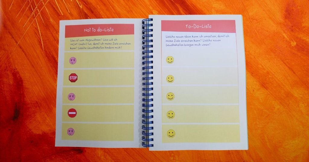 Lebensfreude-Zielplaner-Buchkalender 2021 - es darf leicht sein