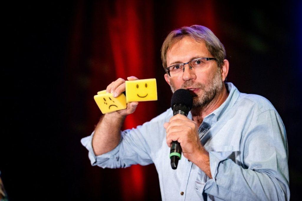 "Michael Vortrag ""Mit Lebensfreude leicht-er-leben"" Speaker-Slam - Lebensfreude-Academy"