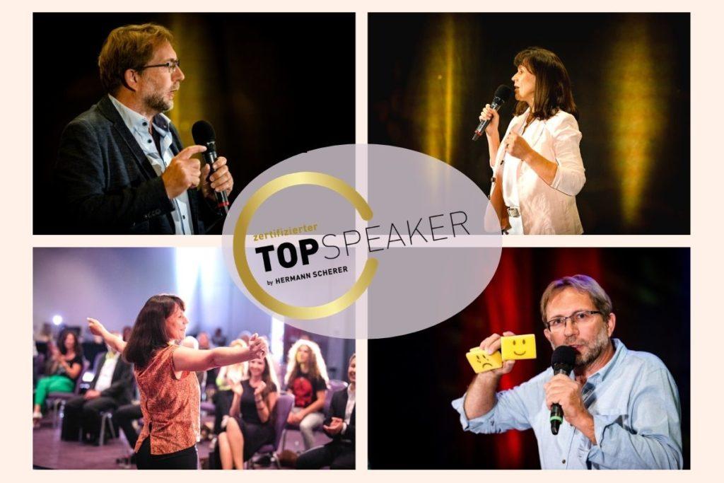 TopSpeaker - Sylvia und Michael von der Lebensfreude-Academy